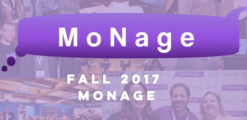 Speaking Engagement: Fall 2017 MoNage